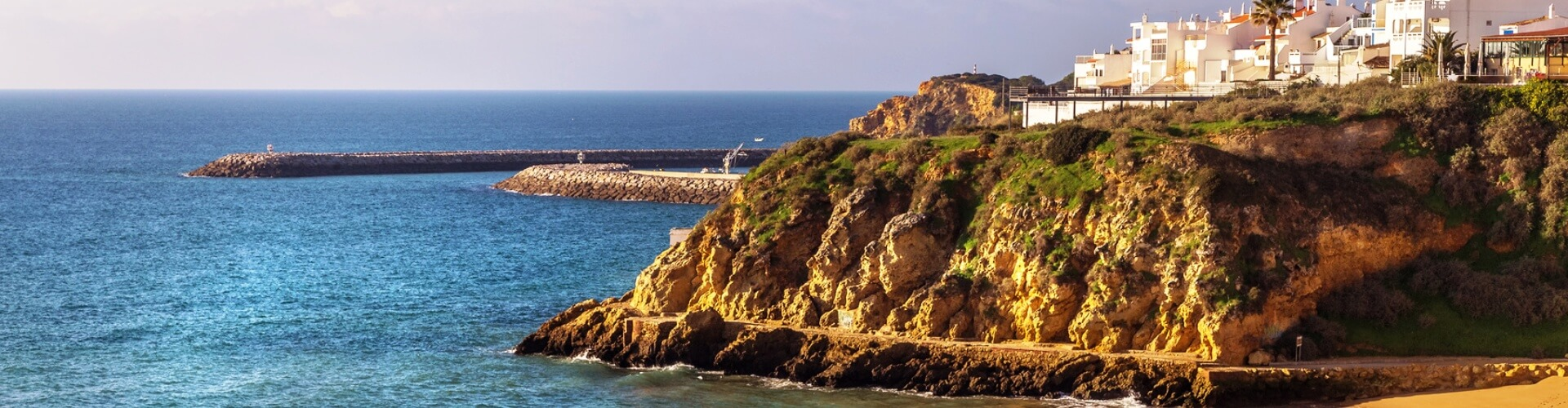 Carvoeiro coastal town, Algarve